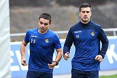 Sangalli vuelve a entrenar tras el ictus que sufrió en octubre
