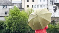 Lluvias fuertes en Galicia y probables también en el Estrecho