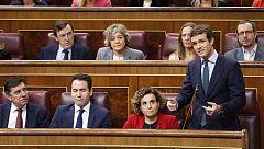 Casado acusa a Sánchez de hacer descarrilar el pacto para la renovación del CGPJ