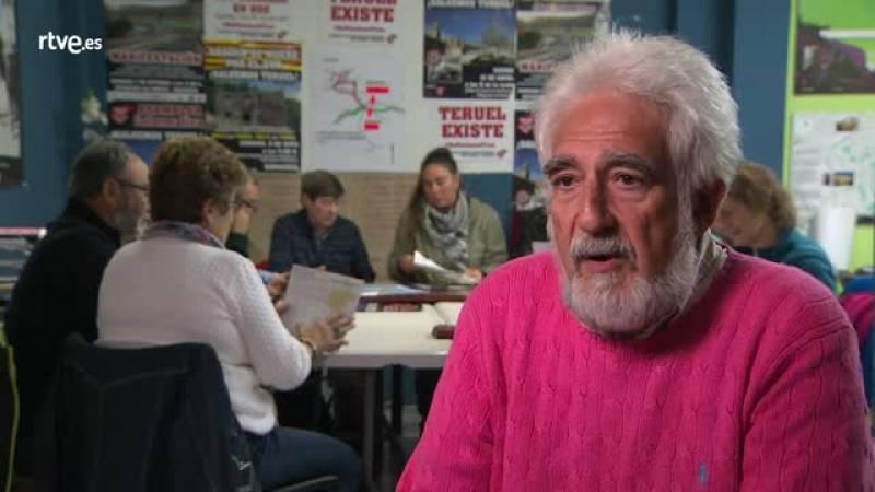 Manuel Jimeno, Portavoz de 'Teruel Existe'
