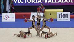 Gimnasia rítmica - Campeonato Nacional Base Conjuntos - Divina Pastora Seguros