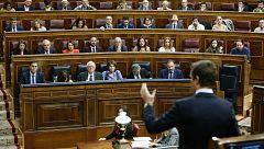 Casado y Sánchez trasladan la campaña andaluza al Congreso con críticas cruzadas