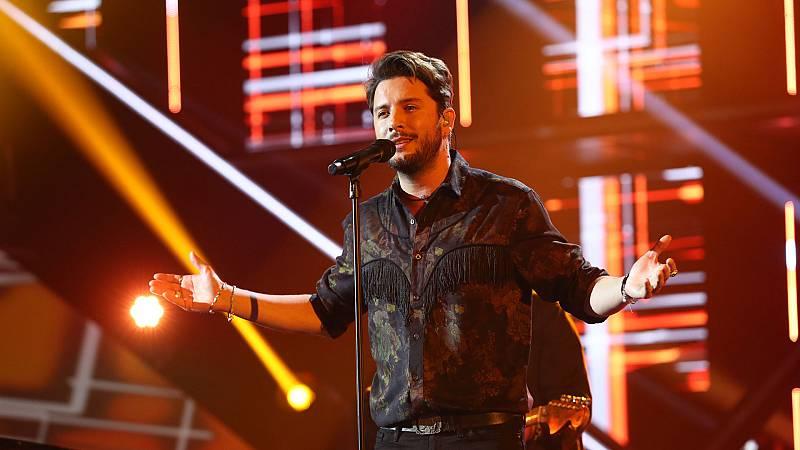 """OT 2018 - Manuel Carrasco canta """"Me dijeron de pequeño"""" en la gala 9"""