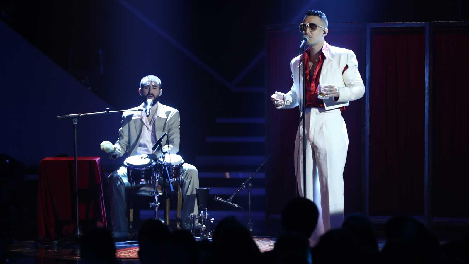 """OT 2018 - C-Tangana canta """"Un veneno"""" en la gala 9"""