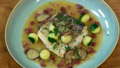 Torres en la cocina - Merluza con verduras y jamón