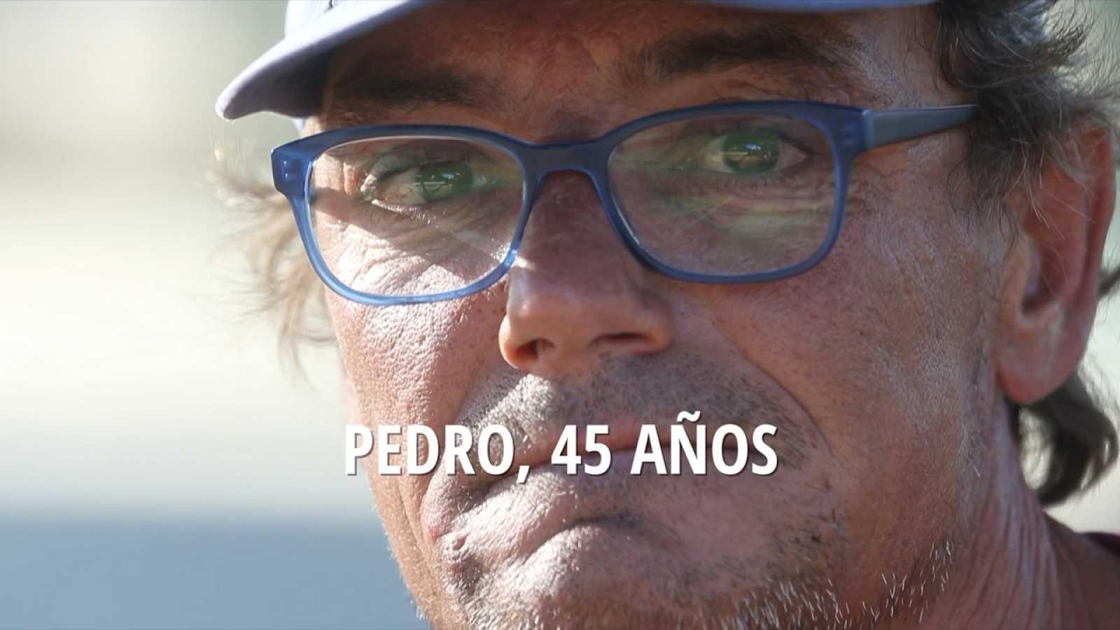 Pedro, víctima de aporofobia