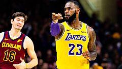 LeBron James regresa como héroe a Cleveland pero sin piedad