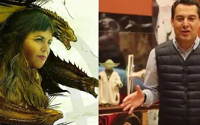 """Los candidatos andaluces tiran de """"dragones"""" y """"fuerza"""" para ganar las elecciones"""