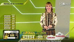 Sorteo ONCE - 23/11/18