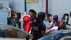 Los incidentes previos al River-Boca obligan a aplazar una hora la final de la Libertadores