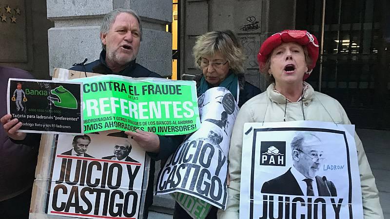 Los afectados por la salida a bolsa de Bankia denuncian secuelas físicas y psicológicas