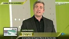 Sorteo ONCE - 26/11/18