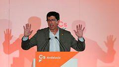 Juan Marín descarta en Los Desayunos un pacto de Ciudadanos con el PSOE en Andalucía
