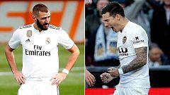 Real Madrid y Valencia se juegan su futuro en Roma y Turín