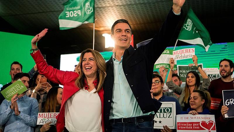 """Sánchez critica a PP y Cs por """"abrazar"""" el discurso de """"ultraderecha"""": """"No dicen que no a pactar con Vox"""""""
