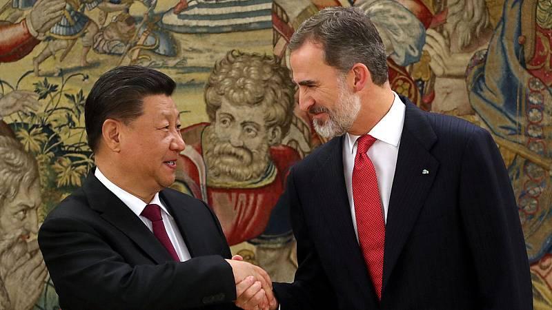 El presidente de China firmará una veintena de acuerdos comerciales en su visita a España.