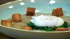 Torres en la cocina - Vichissoise de castañas con huevo