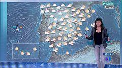 Hoy, lluvias y viento fuerte en Galicia, área cantábrica y Navarra