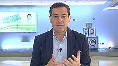 Los desayunos de TVE - Juan Manuel Moreno, candidato del PP a la Presidencia de la Junta de Andalucía