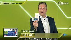Sorteo ONCE - 29/11/18