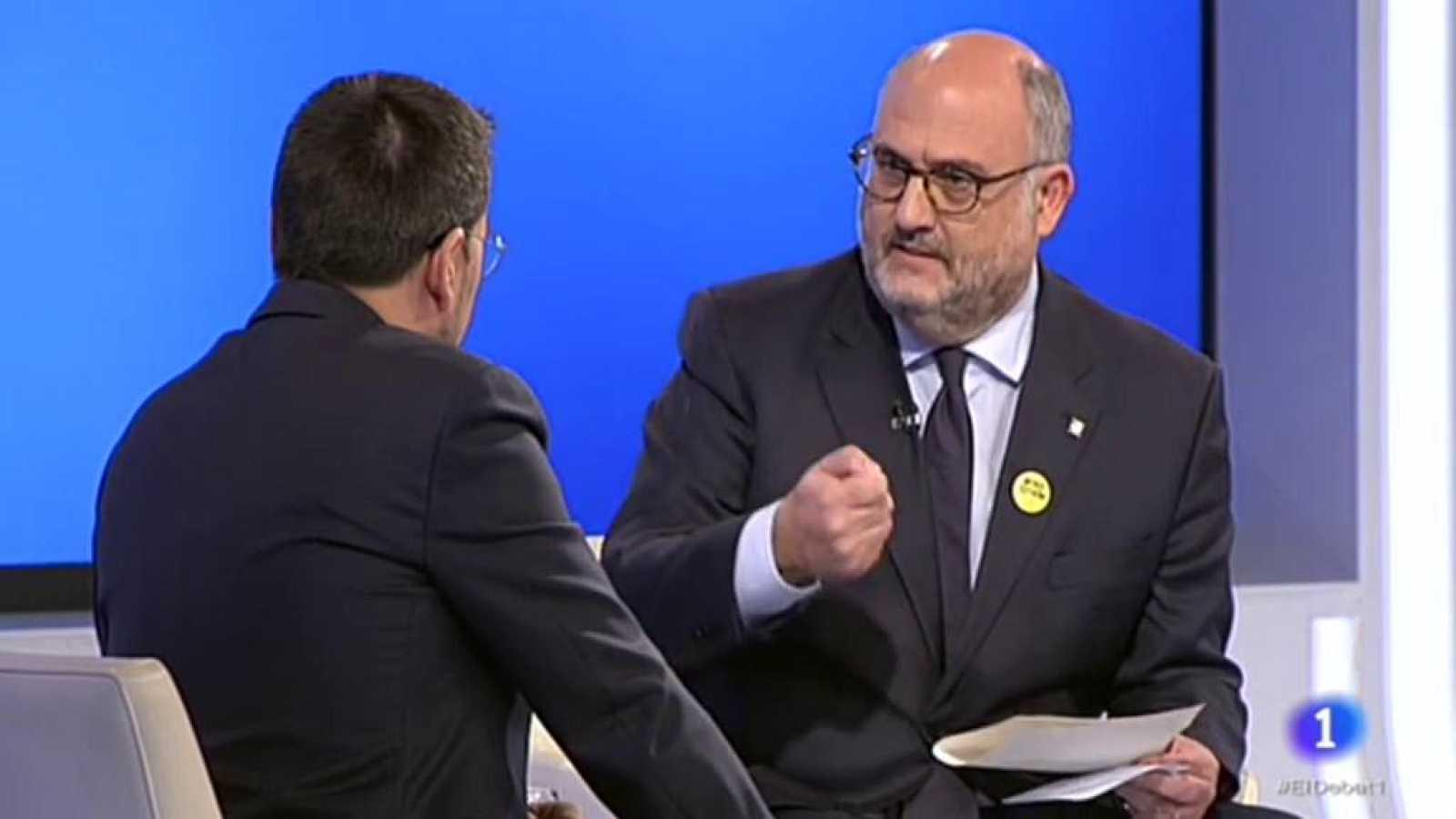 El Debat de La 1 - Entrevista a Eduard Pujol