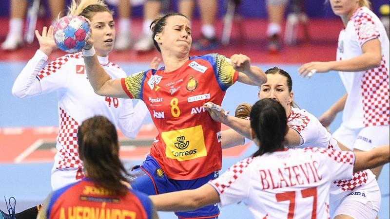 Balonmano - Campeonato de Europa Femenino: España - Croacia - ver ahora