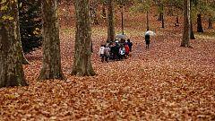 Vientos fuertes en Galicia y aumento de temperaturas generalizado