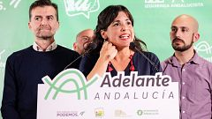 """Teresa Rodríguez: """"Hay que parar a la derecha en las instituciones y en la callle"""""""