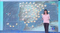 Hoy, lluvias persistentes y viento fuerte en litoral de Galicia
