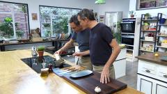 Torres en la cocina - Bacalao con aceitunas y ceviche de mango