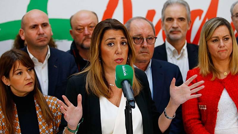 Susana Díaz rechaza dimitir y pide el apoyo de Ciudadanos