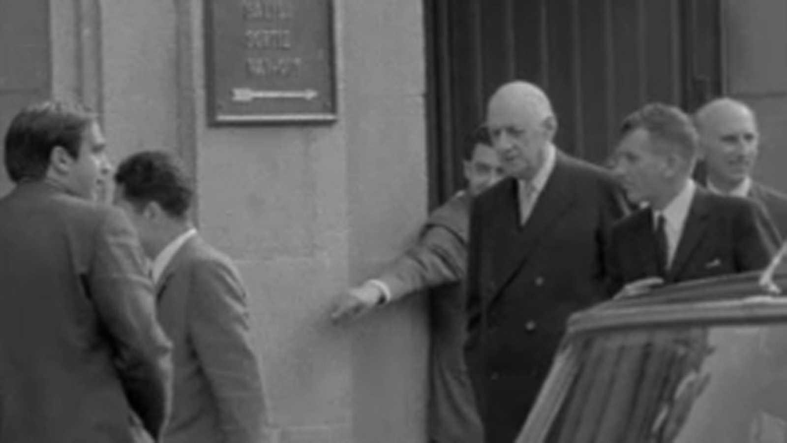 Noticias Nacional 1970 - Visita de De Gaulle al Museo del Prado