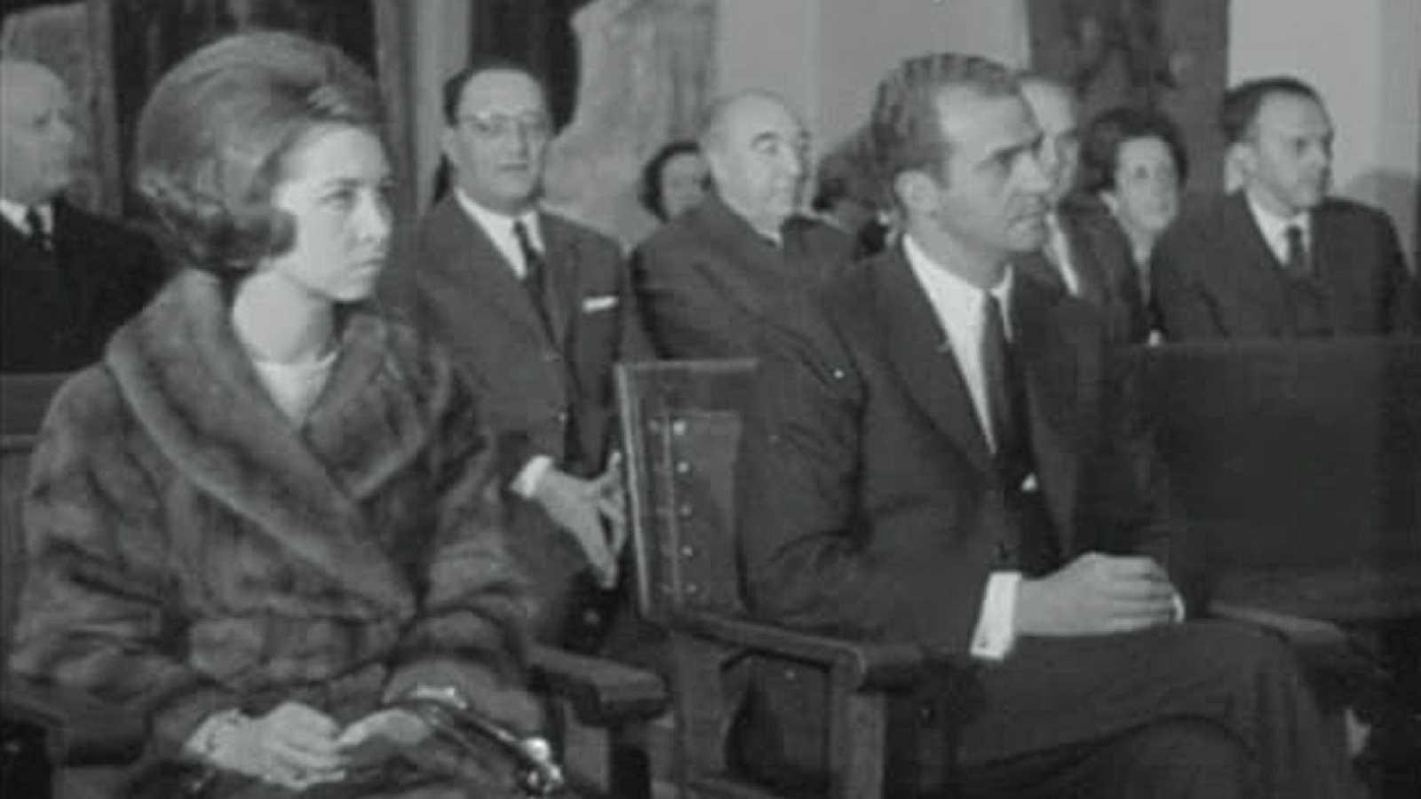 Noticias Nacional 1969 - Los príncipes en el 150 aniversario de El Prado