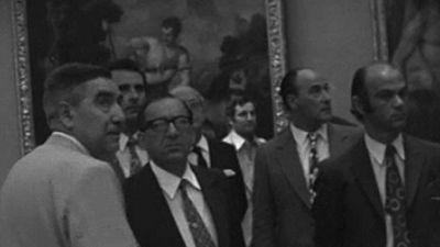 Noticias Nacional 1973 - El primer ministro maltés visita El Prado