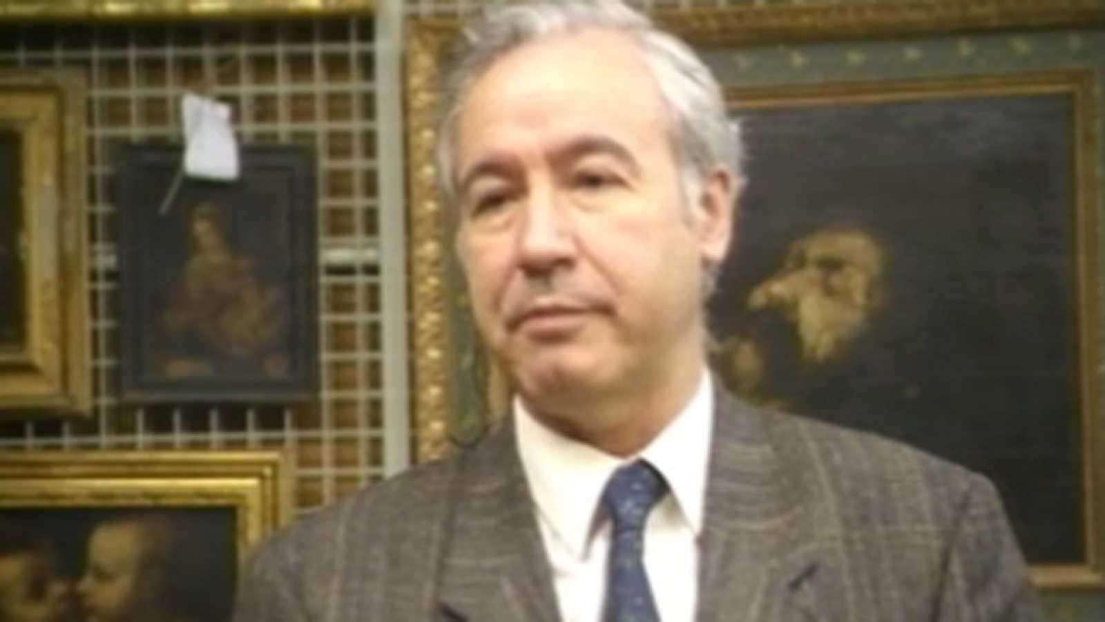 Entrevista al director del Museo del Prado en 'El día por delante' (1989)