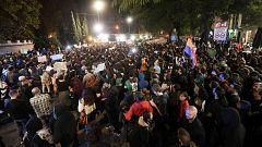 Dos detenidos en Cádiz en una nueva jornada de manifestaciones contra Vox en Andalucía