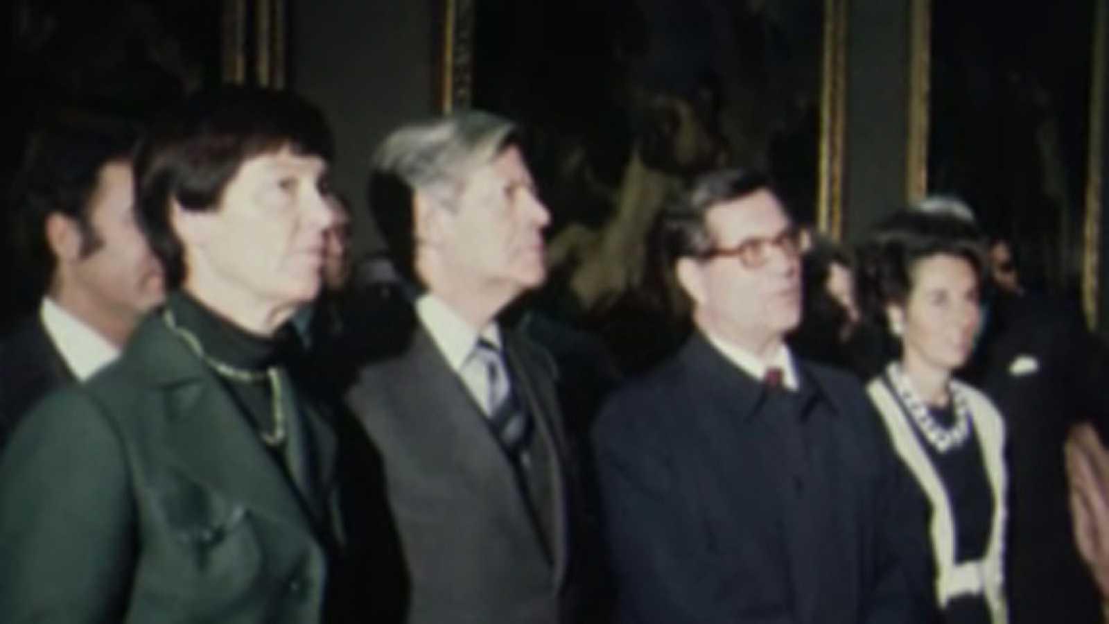 Noticias Nacional 1977 - Helmut Schmidt visita el Museo del Prado
