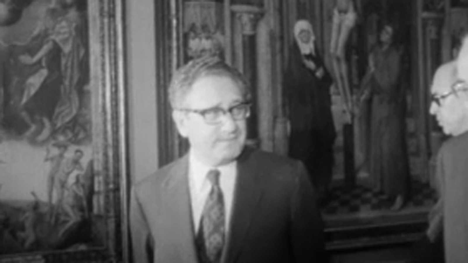Noticias Nacional 1973 - Henry Kissinger visita el Museo del Prado