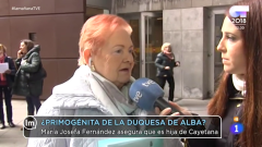 La Mañana - María Josefa Fernández asegura ser hija de la Duquesa de Alba