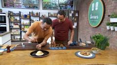 Torres en la cocina - Croquetas de arroz y bombas con salsa de huevo