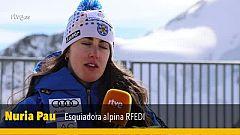 """Nuria Pau: """"Cumplir mis objetivos en el Mundial de Are sería increíble"""""""
