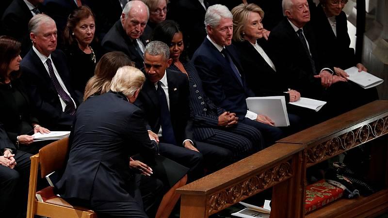 EE.UU. despide a George H.W. Bush con un emotivo funeral de Estado