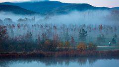 Nieblas que pueden ser persistentes localmente en la Meseta norte