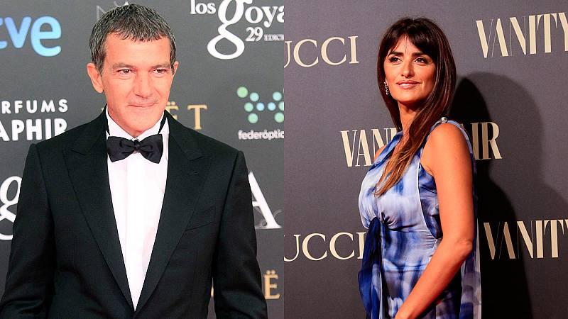 Antonio Banderas y Penélope Cruz, nominados a los Globos de Oro