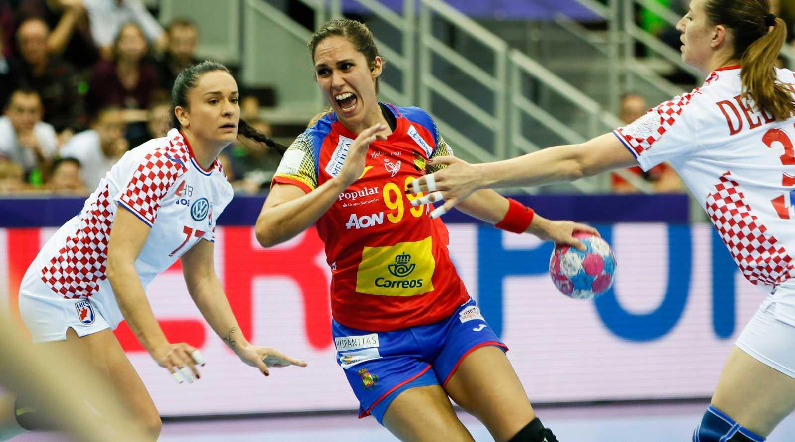 Mireya González, jugadora de la selección española de balonmano, puede presumir de haber ganado una Liga de Campones. Lo consiguió con su actual equipo, el Gyori húngaro, el pasado mes de mayo. Ahora, lucha con las Guerreras en el Europeo de Francia