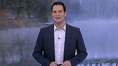 Nieblas localmente persistentes en ambas mesetas y Extremadura