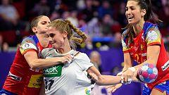 Balonmano - Campeonato de Europa Femenino: España - Alemania