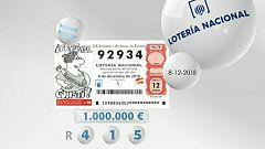 Lotería viajera - 08/12//18