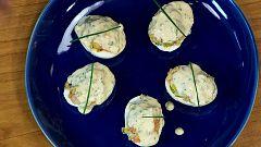 Torres en la cocina - Huevos rellenos de gambas