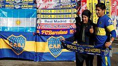 Final Libertadores: 'Banderazo' en las zonas para los aficionados de River y Boca